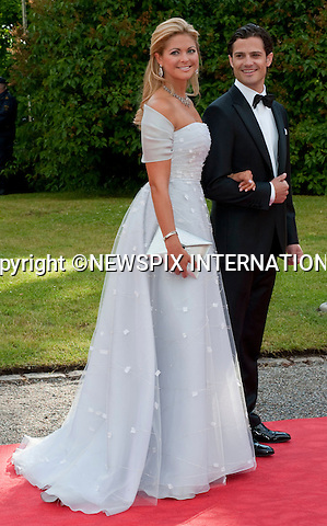 "PRINCESS MADELEINE and PRINCE CARL PHILIP.Pre-Wedding Dinner hosted by the Government of Sweden in honour of H.R.H Crown Princess Victoria and Mr Daniel Westling at Eric Ericsonhallen was attended by Royalty from all over the world. Stockholm_18/06/2010..Mandatory Photo Credit: ©Dias/Newspix International..**ALL FEES PAYABLE TO: ""NEWSPIX INTERNATIONAL""**..PHOTO CREDIT MANDATORY!!: NEWSPIX INTERNATIONAL(Failure to credit will incur a surcharge of 100% of reproduction fees)..IMMEDIATE CONFIRMATION OF USAGE REQUIRED:.Newspix International, 31 Chinnery Hill, Bishop's Stortford, ENGLAND CM23 3PS.Tel:+441279 324672  ; Fax: +441279656877.Mobile:  0777568 1153.e-mail: info@newspixinternational.co.uk"