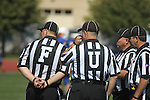 We have nothing against officials... but we might want to suggest that they pay attention to what order they stand in before the game starts. (Week 2, Concordia (Wisc.) at Macalester)