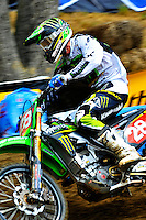 Tyla Rattray of Monster Energy/Kawasaki won the 250 class during the Lucas Oil AMA Pro Motocross at Budds Creek National in Mechanicsville, Maryland on Saturday, June 18, 2011. Alan P. Santos/DC Sports Box