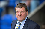 St Johnstone v Alashkert FC...09.07.15   UEFA Europa League Qualifier 2nd Leg<br /> Saints boss Tommy Wright<br /> Picture by Graeme Hart.<br /> Copyright Perthshire Picture Agency<br /> Tel: 01738 623350  Mobile: 07990 594431