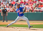 3 March 2016: New York Mets pitcher Rafael Montero on the mound during a Spring Training pre-season game against the Washington Nationals at Space Coast Stadium in Viera, Florida. The Mets fell to the Nationals 9-4 in Grapefruit League play. Mandatory Credit: Ed Wolfstein Photo *** RAW (NEF) Image File Available ***