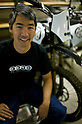 Neal Saiki, Zero Motorcycles's founder and chief technology officer, pictured in New York city, on April 24, 2009. (photo David Foch/Nippon News)