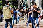 Egyptians enjoy during the celebration Sham El Nessim at a garden in Cairo, Egypt on April 17, 2017. Egyptians celebrate the Sham El Nessim, or the Festival of Spring Breeze, which marks the beginning of spring. Photo by Amr Sayed