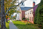 Fall foliage in the village of Hancock, NH, USA