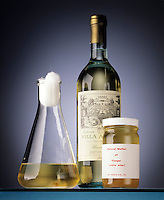 ORGANIC REDOX REACTION: MAKING WINE VINEGAR<br /> Mother Of Vinegar &amp; Oxygen Make Acetic Acid<br /> Mother of vinegar is a slime composed of a form of cellulose and acetic acid bacteria which is added to alcohol to produce vinegar