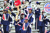 Howard University band plays for the crowd during intermission. Maryland routed Howard 52-13 during home season opener at Capital One Field in College Park, MD on Saturday, September 3, 2016.  Alan P. Santos/DC Sports Box