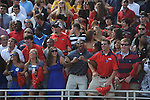 "Ole Miss fans ""Lock the Vaught"" at Vaught-Hemingway Stadium in Oxford, Miss. on Saturday, September 24, 2011. Georgia won 27-13."