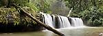 Nandroya waterfall. Stitched panoramic