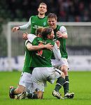 Fussball, Bundesliga 2009/10: SV Werder Bremen - 1. FC Nuernberg