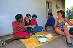 Candyce & Jacqueline With Local Women