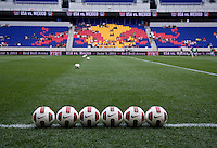 Nike Soccer Ball, Red Bull Arena. The USWNT defeated Mexico, 1-0, during the game at Red Bull Arena in Harrison, NJ.