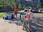 Aug. 17, 2012; Move-in 2012...Photo by Matt Cashore/University of Notre Dame