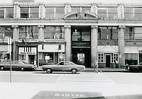 UNDATED..Conservation.Downtown West (A-1-3)..Monticello Arcade.South Entance on Plume Street...NEG#..