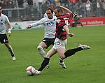 Sandhausen 19.04.2008, R.Pinto (SV Sandhausen) und Steffen Wohlfarth (Ingolstadt) in der Regionalliga S&uuml;d 2007/08 SV Sandhausen 1916 - FC Ingolstadt 04<br /> <br /> Foto &copy; Rhein-Neckar-Picture *** Foto ist honorarpflichtig! *** Auf Anfrage in h&ouml;herer Qualit&auml;t/Aufl&ouml;sung. Belegexemplar erbeten.