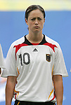 09 August 2008: Renate Lingor (GER).  The women's Olympic soccer team of Germany defeated the women's Olympic soccer team of Nigeria 1-0 at Shenyang Olympic Sports Center Wulihe Stadium in Shenyang, China in a Group F round-robin match in the Women's Olympic Football competition.