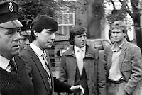 Pix: Copyright Anglia Press Agency/Archived via SWpix.com. The Bamber Killings. August 1985. Murders of Neville and June Bamber, daughter Sheila Caffell and her twin boys. Jeremy Bamber convicted of killings serving life...copyright photograph>>Anglia Press Agency>>07811 267 706>>..Jeremy Bamber at court. no date..ref 0001 neg 17..
