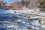 Northfield Falls, Northfield, VT, USA