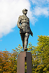 Paris - France - statue of Charles De Gaulle - Champs  Eleysee