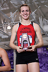 10 MAR 2012:  Lindsay Lettow of Central Missouri set a new meet record in the pentathlon with a point total of 4193 during the Division II Men's and Women's Indoor Track and Field Championship held at Myers Fieldhouse on the campus of Minnesota State University, Mankato, in Mankato, MN.  Brian Fowler/NCAA Photos