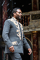 "London, UK. 22.06.2016.  Shakespeare's Globe presents ""Macbeth"", by William Shakespeare, directed by Iqbal Khan.  Picture shows: Ray Fearon (Macbeth).  Photograph © Jane Hobson."