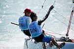 SingaporeSirena SL16OpenCrewSINXN1XavierNg<br /> SingaporeSirena SL16OpenHelmSINRW1RijiWong<br /> Day4, 2015 Youth Sailing World Championships,<br /> Langkawi, Malaysia