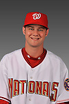 14 March 2008: ..Portrait of Jacob Rogers, Washington Nationals Minor League player at Spring Training Camp 2008..Mandatory Photo Credit: Ed Wolfstein Photo