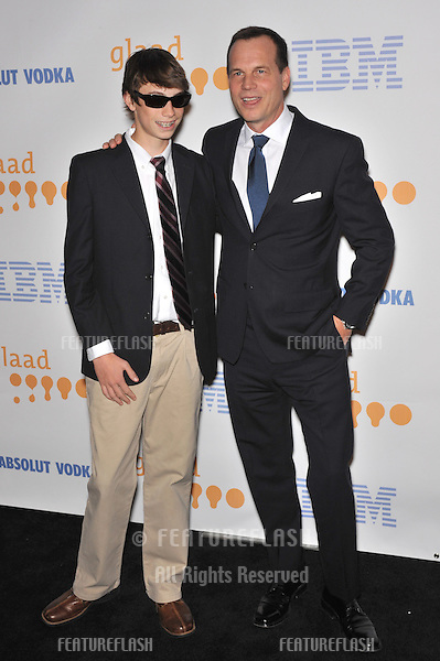Bill Paxton & son at the 20th Annual GLAAD Media Awards at the Nokia Theatre L.A. Live..April 18, 2009  Los Angeles, CA.Picture: Paul Smith / Featureflash