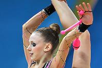 August 29, 2013 - Kiev, Ukraine - JASMINE KERBER of USA performs at 2013 World Championships.<br /> Note: Horizontal crop, version ver2.