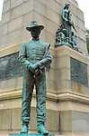 General William Tecumseh Sherman Monument, Cavalry Soldier, Peace sculpture group, Battle of Atlanta and Missionary Ridge bas reliefs, Carl Rohl-Smith 1903, Sherman Plaza, Washington DC