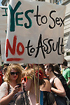 Slut Walk London UK . June 11 2011.