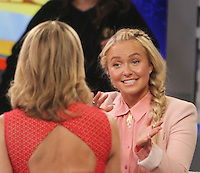 APR 20 Hayden Panettiere at Good Morning America NY