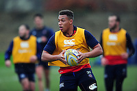Gabriel Oghre of Bath Rugby in action. Bath Rugby training session on November 22, 2016 at Farleigh House in Bath, England. Photo by: Patrick Khachfe / Onside Images