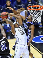 The Panthers' Nasir Robinson fights through the Bulldogs' defense. Pittsburgh defeated UNC-Asheville 74-51 during the NCAA tournament at the Verizon Center in Washington, D.C. on Thursday, March 17, 2011. Alan P. Santos/DC Sports Box