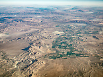 Mason Valley, Lyon Co., Nevada, USA Fly-over County-from the window seat of Southwest #1882 from SMF to DAL, September 2016