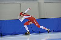 SCHAATSEN: SALT LAKE CITY: Utah Olympic Oval, 13-11-2013, Essent ISU World Cup, training, Lotte van Beek (NED), ©foto Martin de Jong