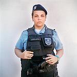 Patrol officer Adriana ....<br /> Rapid Response Team<br /> Pacifying Police Unit<br /> Complexo do Caju, Rio de Janeiro, Brazil