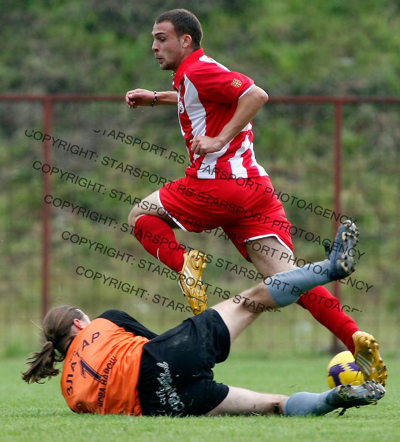 Fudbal,FK Crvena Zvezda, pripreme za sezonu 2009/2010.Crvena Zvezda Vs. Zlatar.Slavko Perovic.Ivanjica, 29.06.2009..foto: Srdjan Stevanovic/Starsportphoto.com
