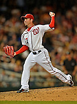 17 May 2012: Washington Nationals pitcher Sean Burnett on the mound against the Pittsburgh Pirates at Nationals Park in Washington, DC. The Pirates defeated the Nationals 5-3 in the second game of their 2-game series. Mandatory Credit: Ed Wolfstein Photo