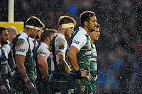 Peter Betham of Leicester Tigers looks on. Aviva Premiership match, between Leicester Tigers and Bath Rugby on November 29, 2015 at Welford Road in Leicester, England. Photo by: Patrick Khachfe / Onside Images