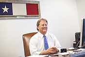 Paul Sadler at his office in Austin, Texas. Mr. Sadler is the Democratic candidate running for the United States Senate seat from Texas against Republican Ted Cruz. October 16, 2012