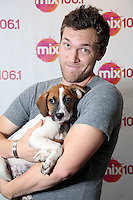 BALA CYNWYD, PA - AUGUST 9 : Phillip Phillips visits MIX 106.1 performance studio in Bala Cynwyd, Pa on August 9, 2016  photo credit Star Shooter/MediaPunch
