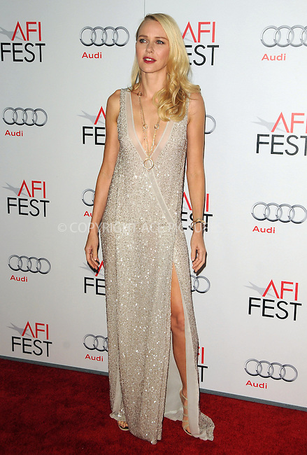 WWW.ACEPIXS.COM . . . . .  ....November 3 2011, LA....Naomi Watts arriving at the AFI FEST 2011 Presented By Audi - 'J. Edgar' Opening Night Gala at Grauman's Chinese Theatre on November 3, 2011 in Hollywood, California.....Please byline: PETER WEST - ACE PICTURES.... *** ***..Ace Pictures, Inc:  ..Philip Vaughan (212) 243-8787 or (646) 679 0430..e-mail: info@acepixs.com..web: http://www.acepixs.com
