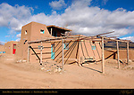 Adobe House, Northern Tiwa Indian, Taos Pueblo, Taos, New Mexico