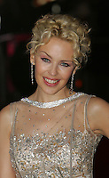 """Kylie Minogue at the film premiere of """"White Diamond"""" at the Vue cinema in Leicester Square.."""