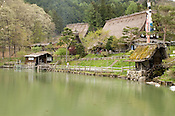Takayama display village of traditional highland houses of Japan