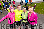Tracy Smith Fiona O'Connor Cathy Jordan and Mags O'Connor, all from Tralee, pictured at the Valentines 10 mile road race in Tralee, on Sunday morning last.