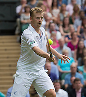 ANDREY GOLUBEV (KAZ)<br /> <br /> The Championships Wimbledon 2014 - The All England Lawn Tennis Club -  London - UK -  ATP - ITF - WTA-2014  - Grand Slam - Great Britain -  23rd June 2014. <br /> <br /> &copy; AMN IMAGES