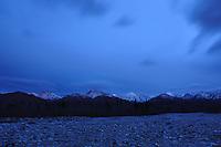 Denali National Park evening clouds