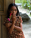 A girl in Mindanao.