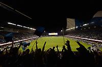 San Jose, CA - Saturday May 06, 2017: San Jose Earthquakes fans during a Major League Soccer (MLS) match between the San Jose Earthquakes and the Portland Timbers at Avaya Stadium.